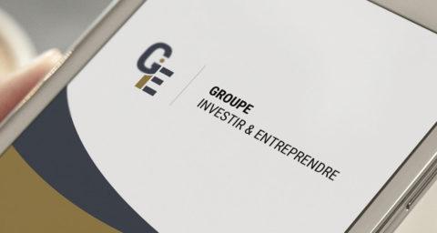 Groupe Investir & Entreprendre présente son nouveau logo résolument plus moderne et épuré